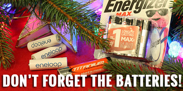 Gift Guide Batteries